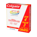 Creme Dental Colgate Total 12 - Clean Mint 90g Leve 4 Pague 3